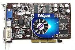 AOpen Aeolus Ti4200-DV64, GeForce4 Ti4200, 64MB DDR, DVI, TV-out, AGP (91.05210.453)