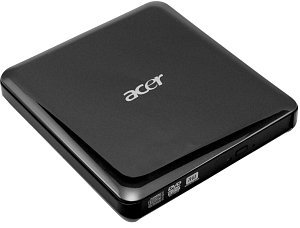 Acer DVD+/-RW DL external black, USB 2.0 (LC.EXD0A.003)