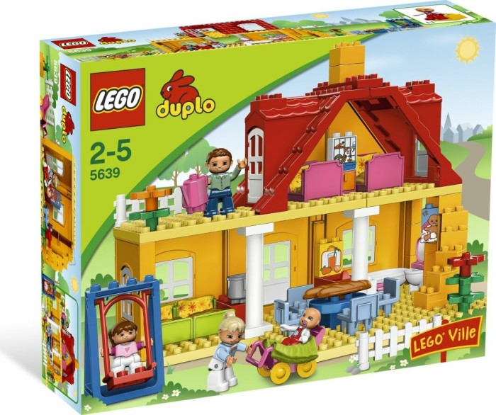 LEGO DUPLO Stadt - Familienhaus (5639) -- via Amazon Partnerprogramm