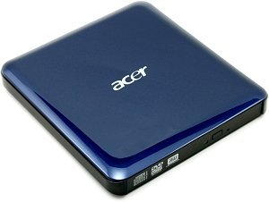 Acer DVD+/-RW DL external blue, USB 2.0 (LC.EXD0A.002)
