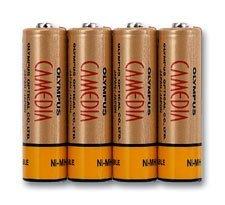 Olympus B-01 4PE NiMH-Batterien (N1285992)