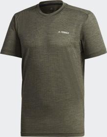 adidas Terrex Tivid T-Shirt kurzarm legend earth (Herren) (GD1178)