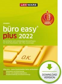 Lexware Büroeasy plus 2021 - annual version, ESD (German) (PC) (08886-2024)
