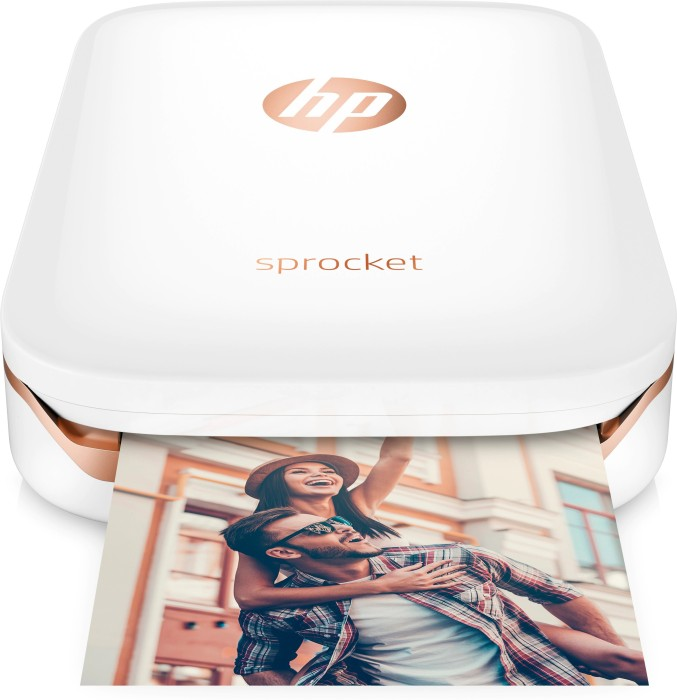HP Sprocket Photo Printer, biały (X7N07A)