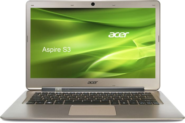 Acer Aspire S3-391-73514G12add, i7-3517U, 4GB RAM, 128GB SSD, Windows 7 Home Premium, UK (NX.M10EK.003)