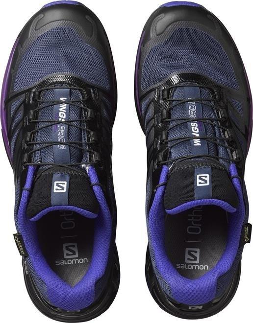 Salomon Wings Pro 2 GTX schwarzblauviolett (Damen) (390609) ab € 49,99