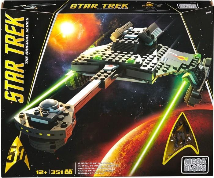 Mattel Mega Bloks Star Trek Klingon D7 Cruiser (DPH80)