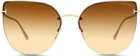 Tom Ford Ingrid rose gold/brown (FT0652-28F)