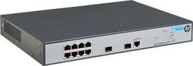HP OfficeConnect 1920 8G Rackmount Gigabit Smart switch, 8x RJ-45, 2x SFP, 180W PoE+ (JG922A)