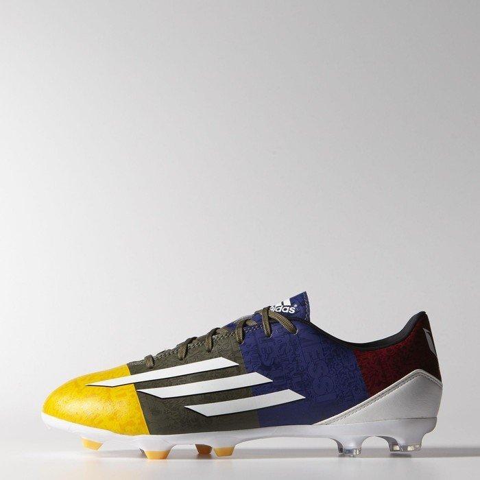 adidas Messi F10, Fg Fußballschuh Herren, Gold - Gold - Or (Orsola/Ftwbla/Verter) - Größe: 42