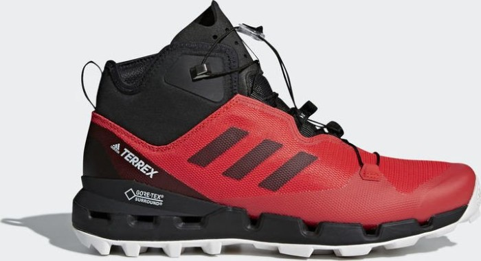 the best attitude 1fc93 f478f adidas Terrex almost mid GTX hi-res red core black grey one (