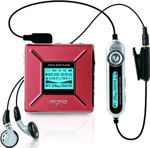 mpio FD100 128MB (various colours)