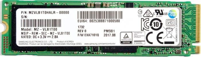 Samsung SSD PM981 2TB, M.2 (MZVLB2T0HMLB-00000)
