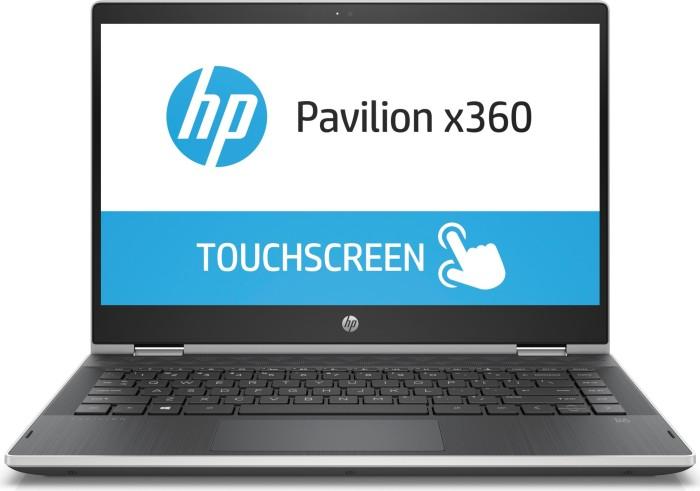 HP Pavilion x360 14-cd0302ng schwarz/silber (4MX05EA#ABD)