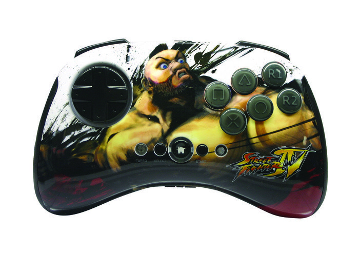 MadCatz Street Fighter IV Round 2 Fightpad Zangief (PS3)