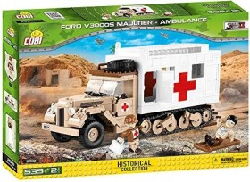 Cobi Historical Collection WW2 Ford V3000S Maultier Ambulance (2518)