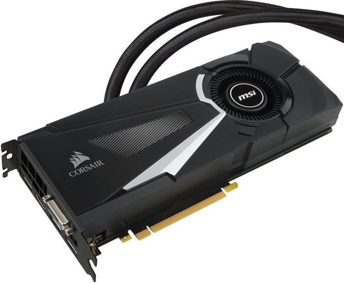 MSI GeForce GTX 1070 Sea Hawk X, 8GB GDDR5, DVI, HDMI, 3x DP (V330
