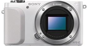 Sony Alpha NEX-3N weiß mit Objektiv AF E 16-50mm 3.5-5.6 OSS PZ (NEX-3NLW)