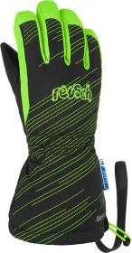 Reusch Maxi Handschuhe black/green gecko (Junior) (4985215-7781)