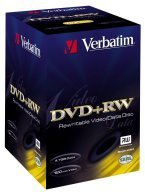 Verbatim DVD+RW 4.7GB 2.4x, 10-pack Videobox