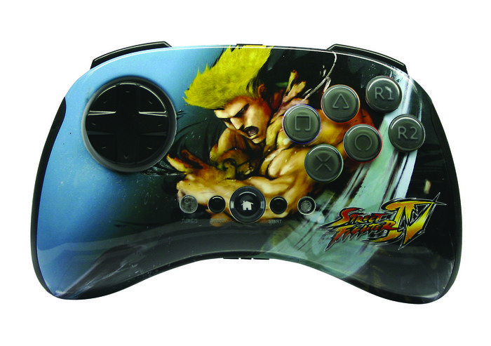 MadCatz Street Fighter IV Round 2 Fightpad Guile (PS3)