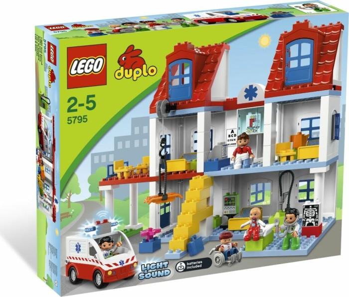LEGO DUPLO Klinik - Großes Stadtkrankenhaus (5795) -- via Amazon Partnerprogramm