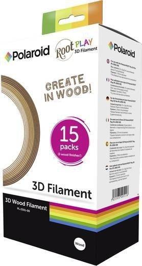 Polaroid3D Play Wood sortiert, 15er-Set, 225g (3D-FP-PL-2501-00)