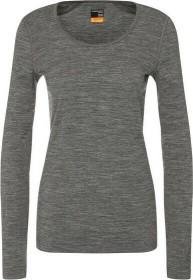 Icebreaker Merino 200 Oasis Scoop Shirt langarm gritstone heather (Damen) (104378-013)