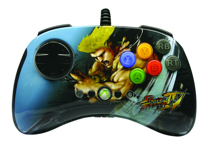MadCatz Street Fighter IV Round 2 Fightpad Guile (Xbox 360)