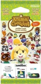 Nintendo amiibo-Karten Packung - Serie 1: Animal Crossing (Switch/WiiU/3DS)