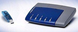 AVM BlueFritz! Startpaket, 1x AP-X, 1x USB (20001642)