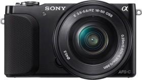 Sony Alpha NEX-3N schwarz mit Objektiv AF E 16-50mm 3.5-5.6 OSS PZ und 55-210mm 4.5-6.3 OSS (NEX-3NY)