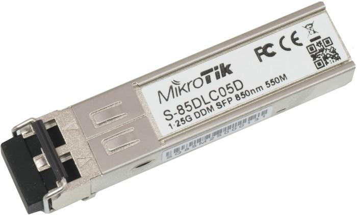 MikroTik RouterBOARD S-85 Gigabit LAN-Transceiver, LC-Duplex MM 550m, SFP (S-85DLC05D)