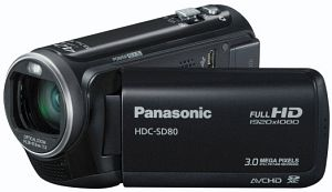 Panasonic HDC-SD80 black (digital)
