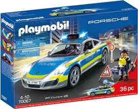 playmobil City Action - Porsche 911 Carrera 4S Polizei (70067)
