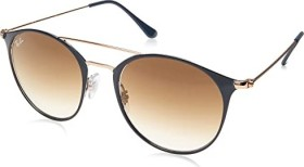 Ray-Ban RB3546 52mm dark blue-bronze-copper/light brown gradient (RB3546-917551)