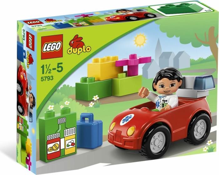 LEGO DUPLO Klinik - Notärztin (5793) -- via Amazon Partnerprogramm