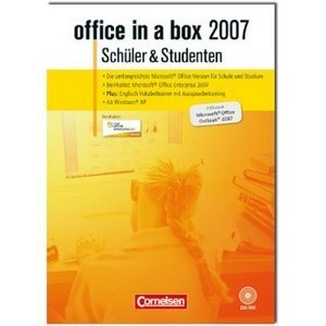 Microsoft/Cornelsen: office in a box 2007 - student & students (PC)