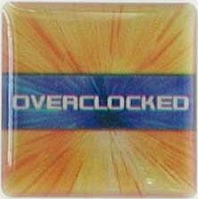 Case Badge/Label Aufkleber Overclocked Explode