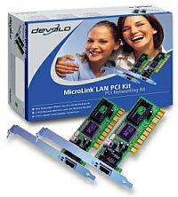 devolo MicroLink LAN PCI Kit (01923)
