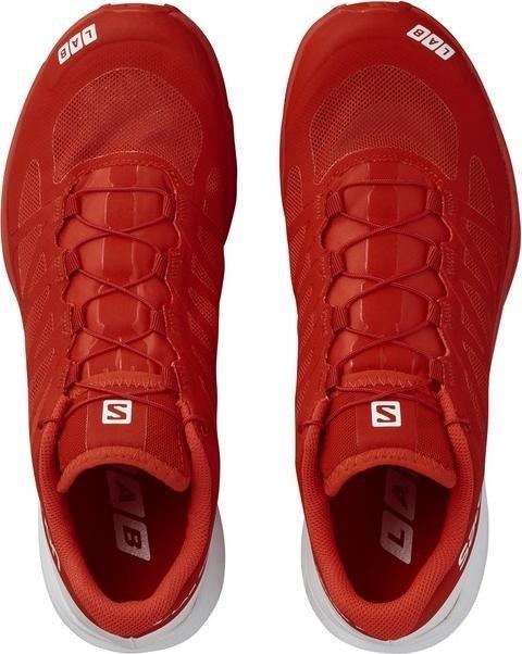 Salomon S Lab Sense 6 Laufschuhe rot weiß