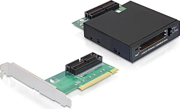 DeLOCK 2x Cardbus, PCI (61834)