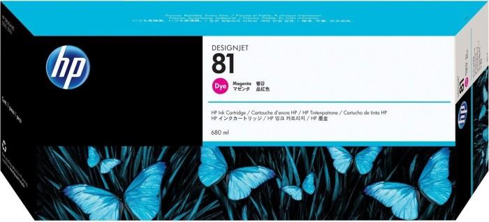 HP 81 tusz purpurowy (C4932A)
