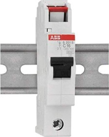 ABB Sicherungsautomat S200S, 1P, C, 16A (S201S-C16)