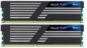 GeIL Value Plus DIMM Kit 4GB, DDR3-1600, CL8-8-8-28 (GVP34GB1600C8DC)