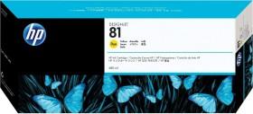 HP Tinte 81 gelb (C4933A)