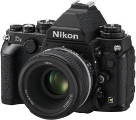 Nikon Df schwarz mit Objektiv 50mm 1.8G SE (VBA380K001)