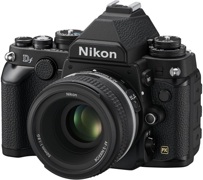 Nikon Df black with lens 50mm 1.8G SE (VBA380K001)