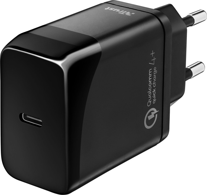 Trust Velox18 Advanced USB-C Fast-charger with PD3.0 & QC4+ (23140)