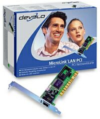 devolo MicroLink LAN, 1x 100Base-TX, PCI (1922/1996)